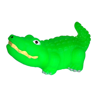 Quietschtier Krokodil 1307